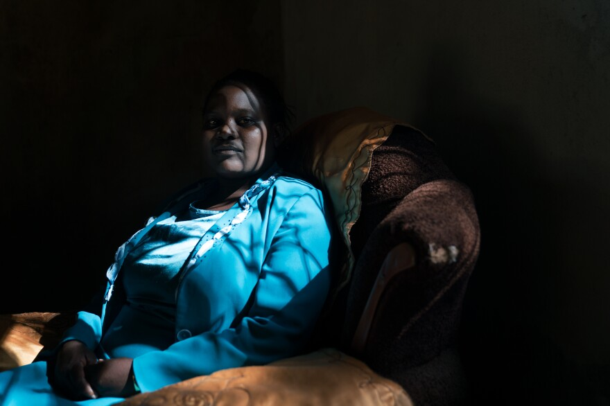 After the firebombing in 2008, Machinga and her family were left homeless, struggling to find food and shuffling between safe houses in Harare.