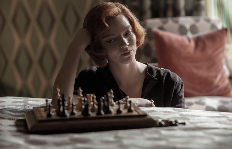 Anya Taylor-Joy plays a swaggering chess prodigy in the new Netflix hit, <em>The Queen's Gambit.</em> It's success may lead to a shortage of chess sets this holiday season.