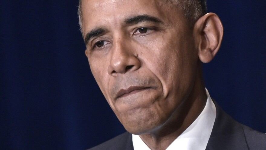 President Obama weighed in, once again, on this week's horrific shootings. Depending on the ear of the listener, Obama has either struck the right chord or been off key.