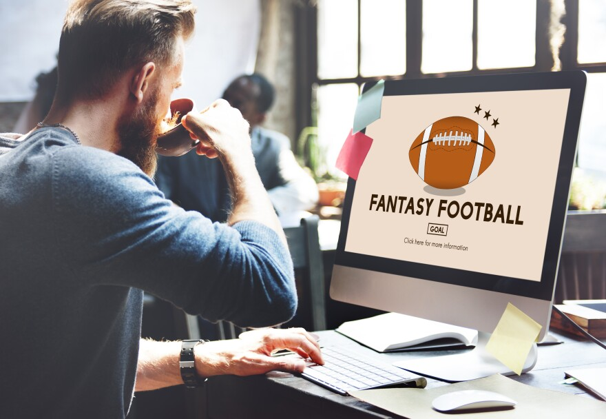 photo of fantasy sports user