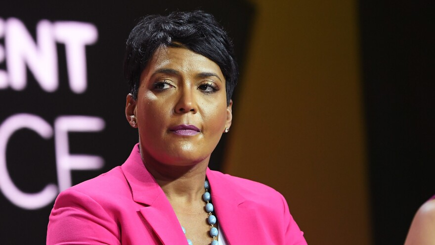 Atlanta Mayor Keisha Lance Bottoms, seen here in 2018, has called for mandatory mask wearing in her city.