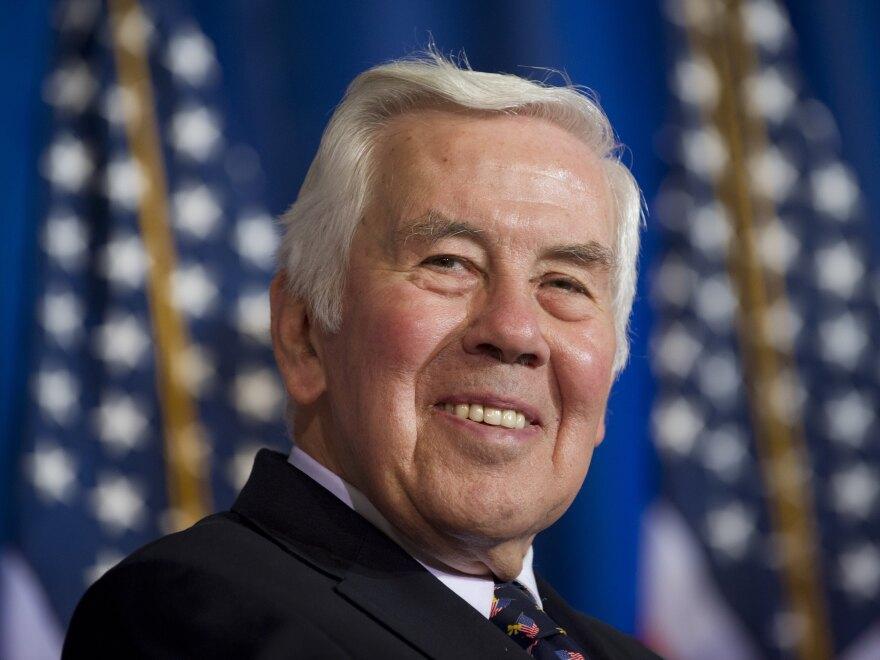 Sen. Richard Lugar, R-Ind., last month in Washington.