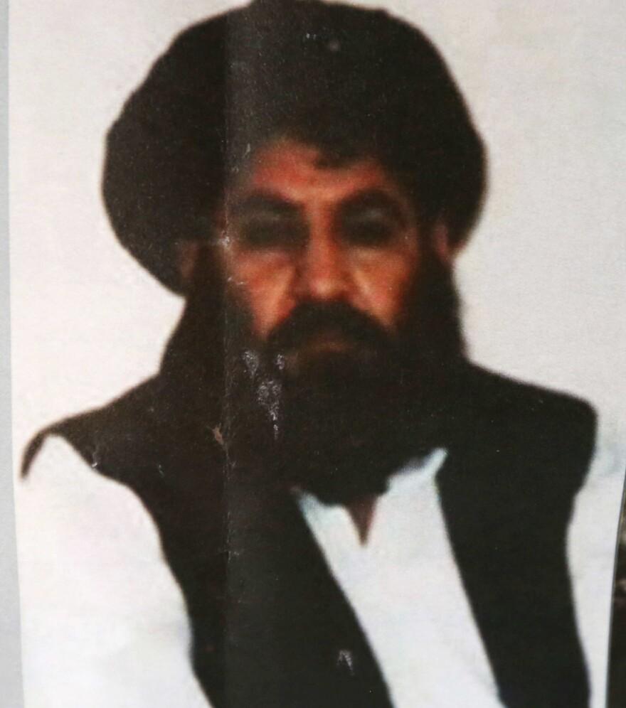 Taliban leader Mullah Mansour.