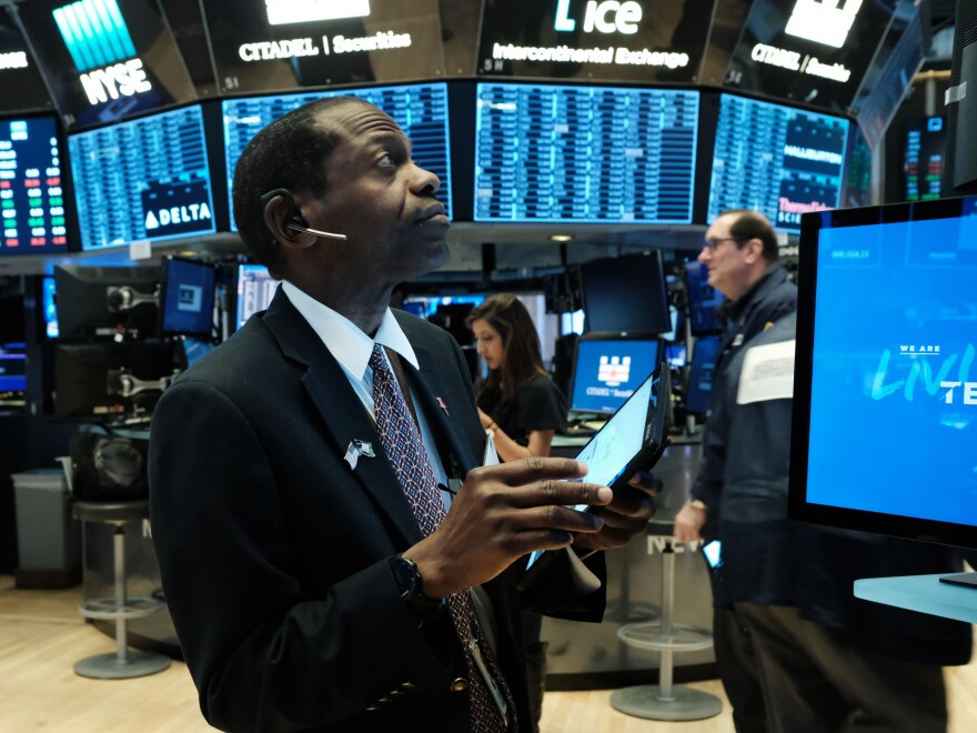 U.S. stock indexes rose sharply on Monday in anticipation of the Federal Reserve's interest rate cut, but stocks fell again on Tuesday after the Fed acted.