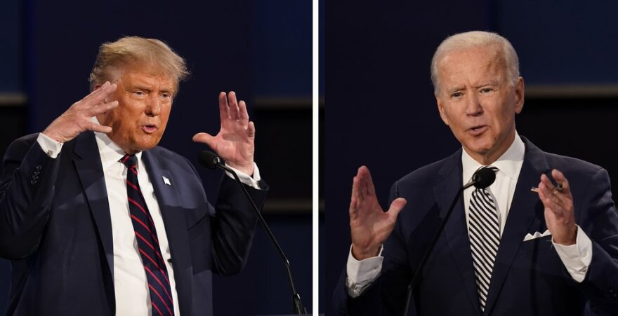 Dueling Town Halls For Trump Biden After Debate Plan Nixed Wlrn