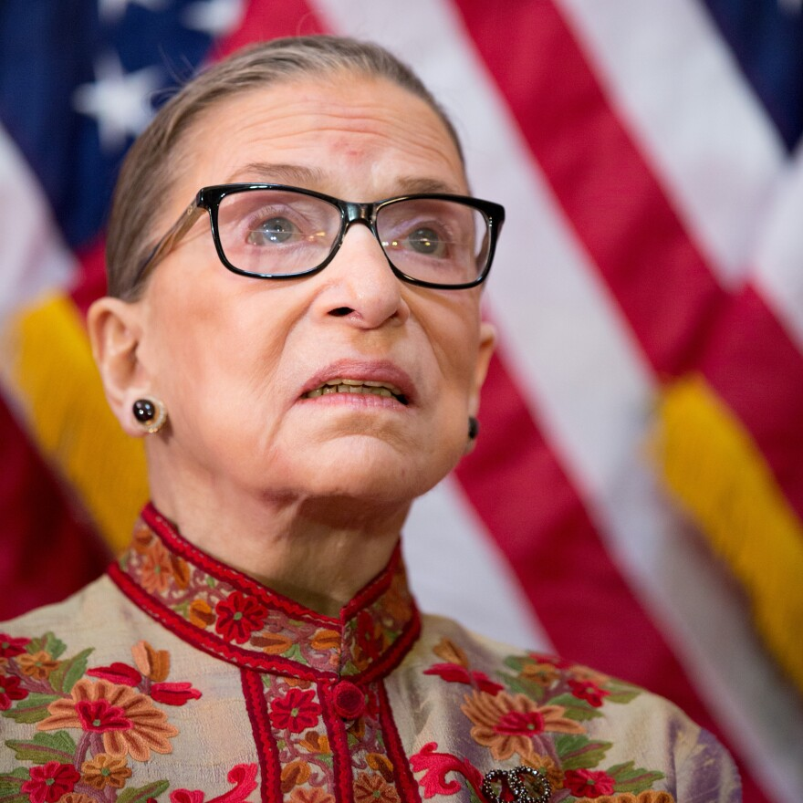 """When Justice Ruth Bader Ginsburg dissented in <em>Board of Education v. Earls</em> in 2002, she conjured a picture of """"nightmarish images of out-of-control flatware, livestock run amok, and colliding tubas disturbing the peace and quiet of Tecumseh."""""""