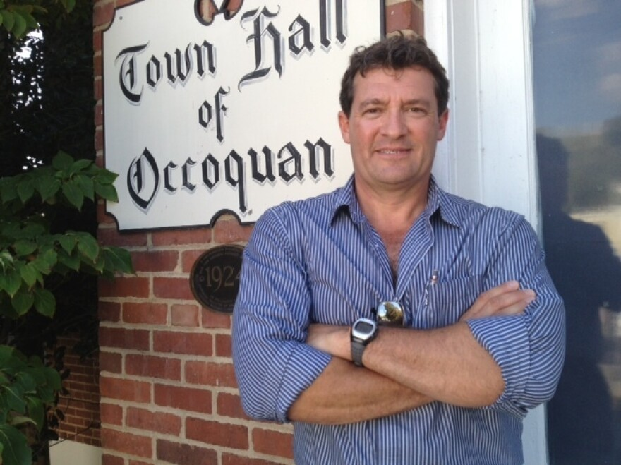 Occoquan Mayor Earnie Porta, a Democrat