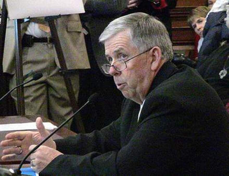 Missouri Sen. Mike Parson, R-Bolivar