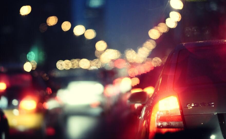 Traffic in Beijing.