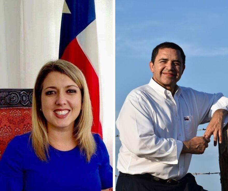 Texas Congressional District 28 candidates Sandra Whitten and incumbent Henry Cuellar. Cuellar, a Laredo Democrat, won re-election, but Whitten, a Republican, has not yet conceded.