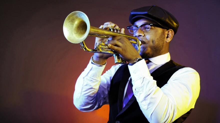 Trumpeter Etienne Charles' new album is called <em>Creole Soul.</em>