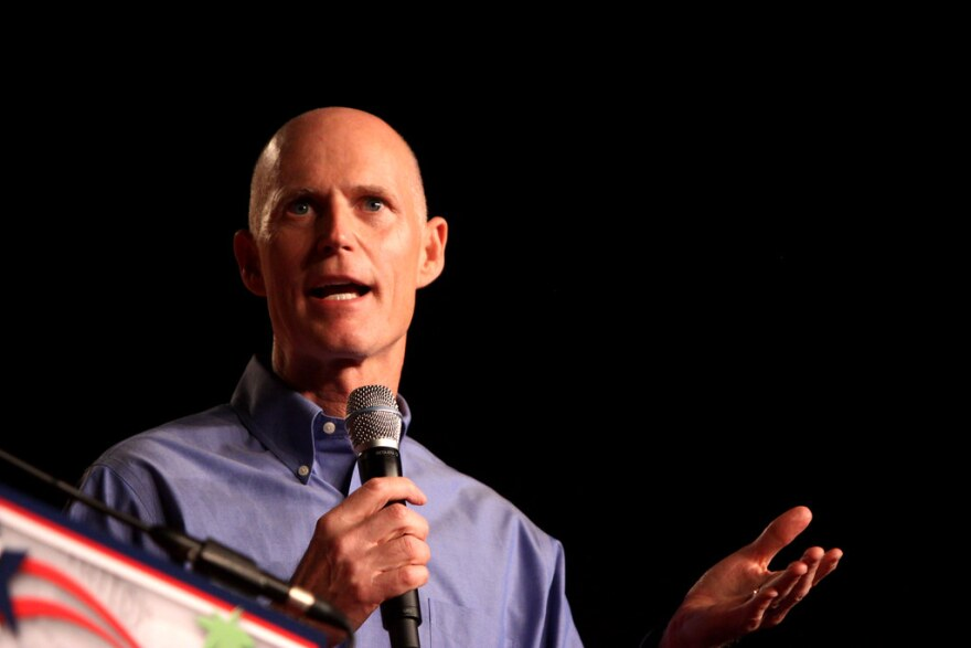 "Former Florida Gov. Rick Scott, now a U.S. senator, championed health care cost ""transparency"" and the establishment of the database in 2015."
