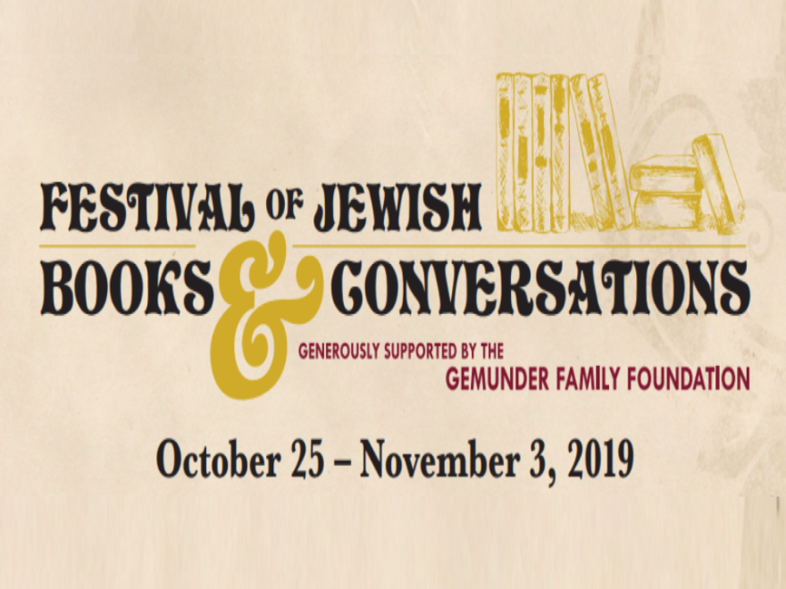 The Festival of Jewish Books & Conversation will take place at various locations throughout Tampa, October 25-November 3.
