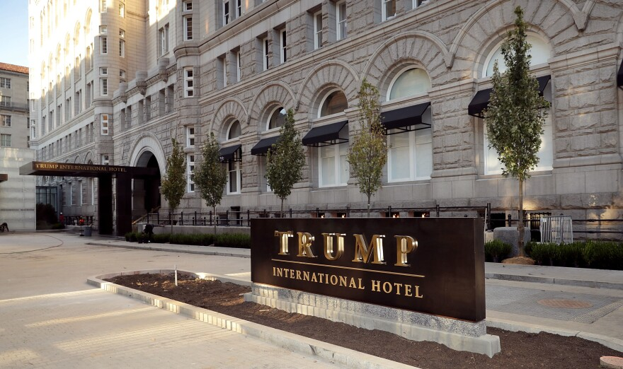 President Trump pledged that the Trump Organization would donate profits from foreign governments, but the top Democrat in the House Oversight Committee says the organization does not appear to be following through.