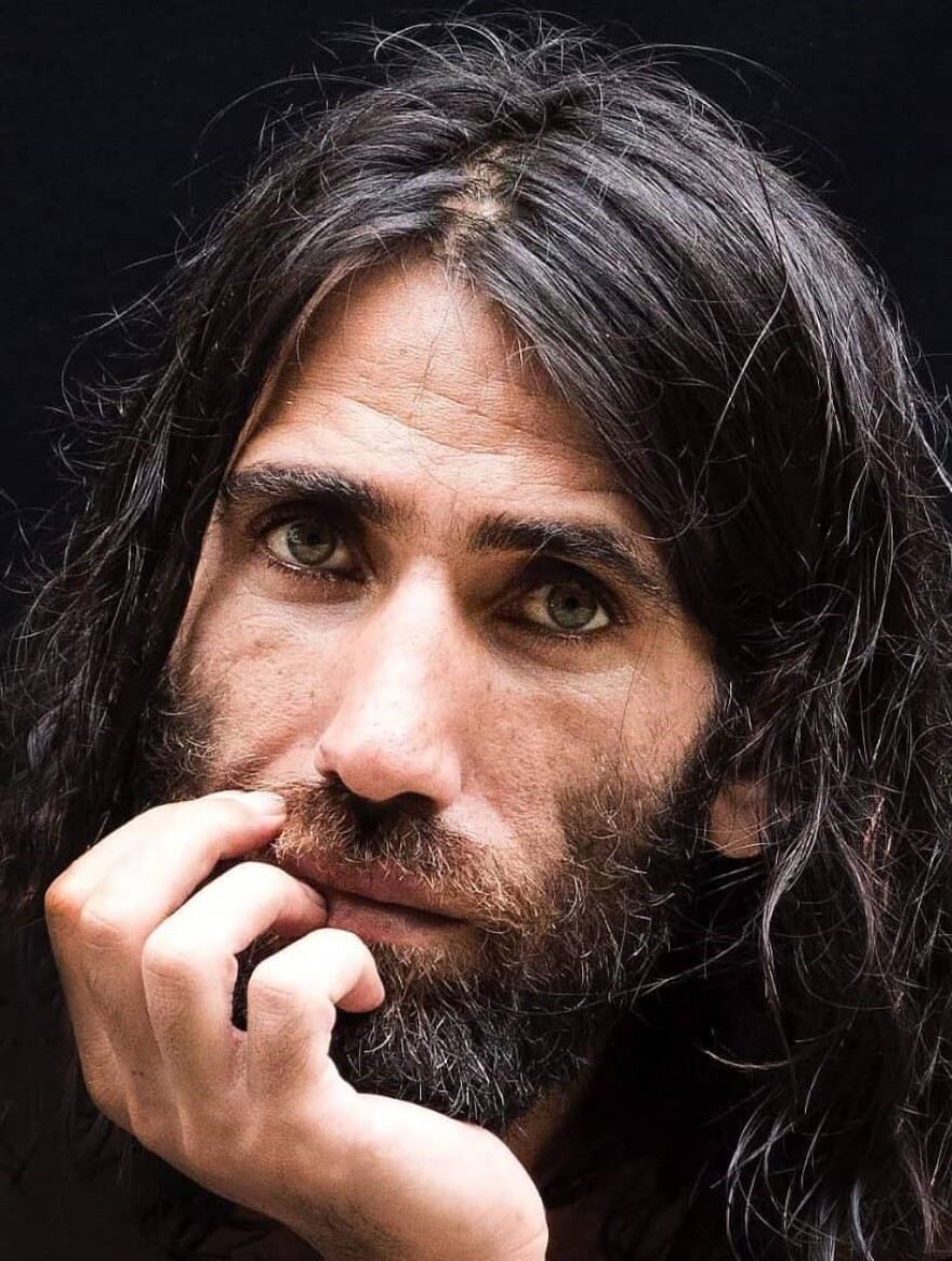 Kurdish-Iranian journalist Behrouz Boochani