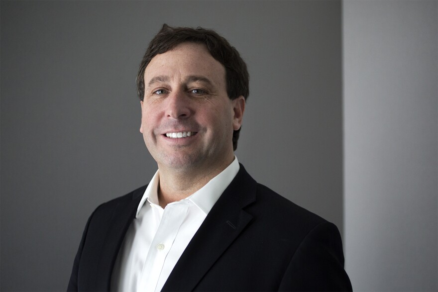 A St. Louis Public Radio file photo of St. Louis County Executive Steve Stenger.