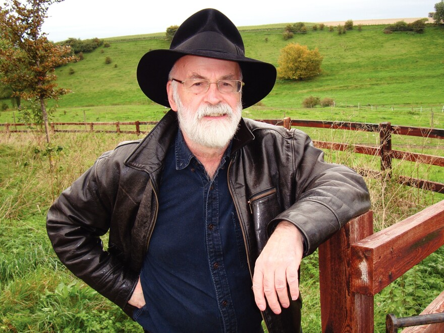Best known for <em>the Discworld</em> fantasy series, Terry Pratchett was diagnosed with a rare form of Alzheimer's disease in 2007. But that hasn't kept him from continuing to write.