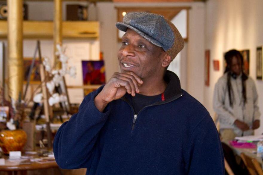 Artist William Burton Jr. has painted two Faces Not Forgotten portraits.