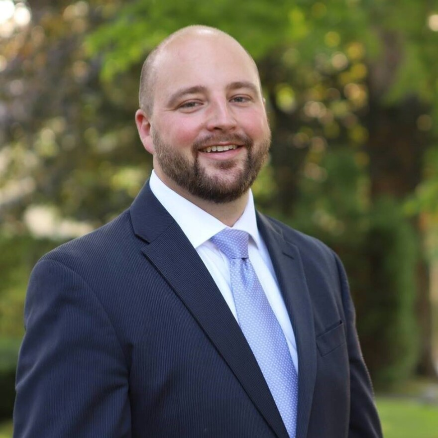Republican state Sen. Matt Pouliot of Maine says elected leaders, including President Trump, too often fail to set a respectful tone as they engage in political debate.