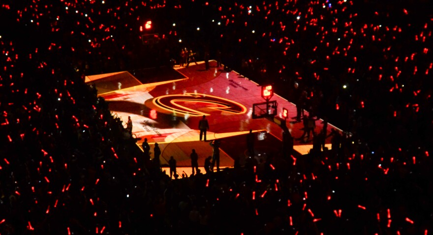photo of Cavs home court