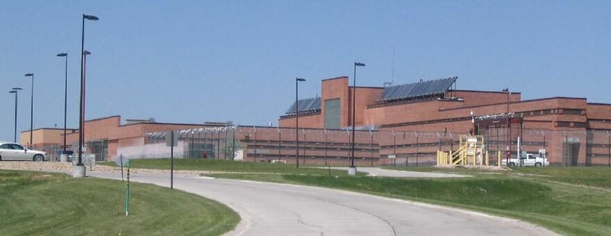 The Wyoming Women's Center prison in Lusk, Wyoming.
