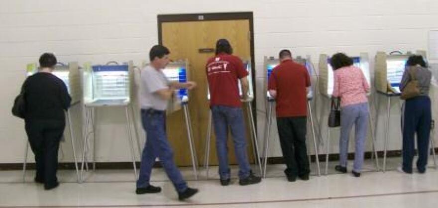 photo of voters