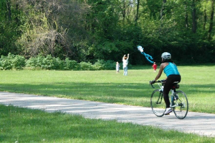 Fiver Rivers Metro Park bike trail