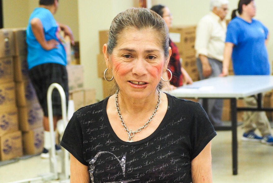 Graciela Panduro says she wants to work, but can't find a job.