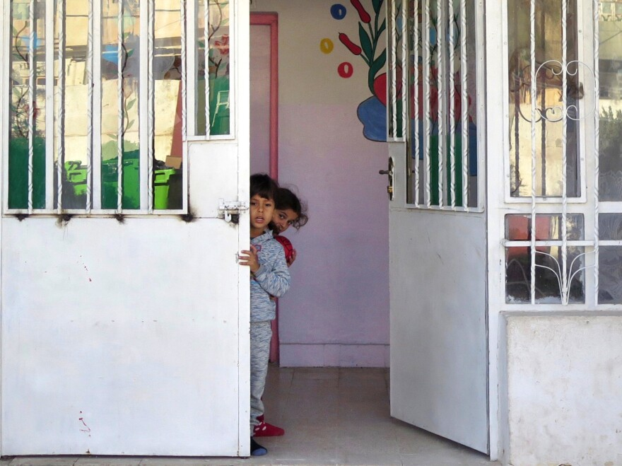 This particular Mosul orphanage holds 18 children under the age of 6, some of them the abandoned children of Yazidi women kidnapped by Islamic State fighters.