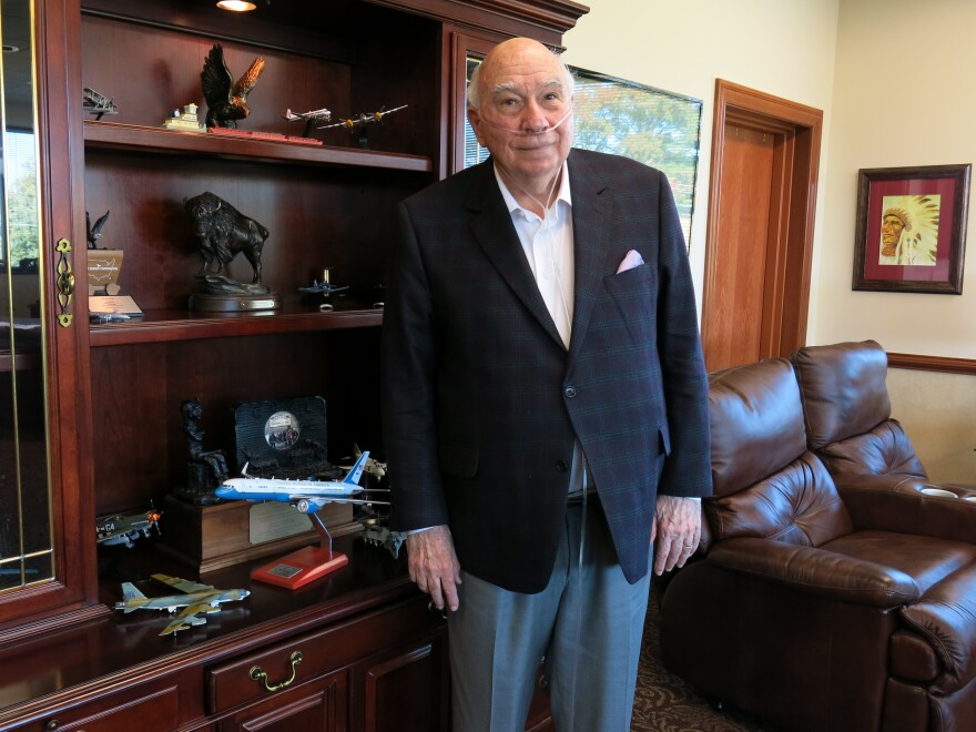 Bob Murray — seen at the headquarters of Murray Energy in St. Clairsville, Ohio — pushed the Trump administration to roll back numerous coal regulations. But he says the industry needs even more help from the government.