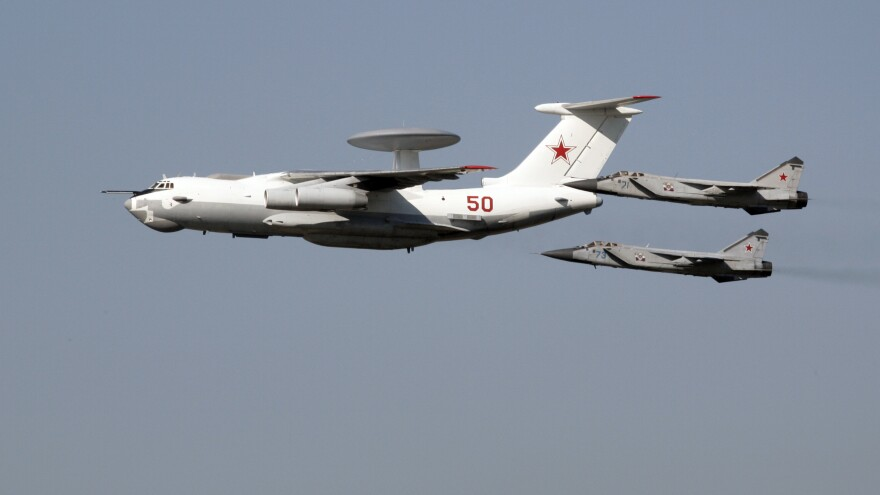 South Korea says a Russian A-50 AWACS command and control aircraft entered its territorial airspace twice, prompting South Korea to fire hundreds of warning shots toward the plane.