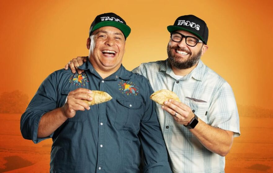 Mando Rayo and Jarod Neece explore the tacos of America and the stories of the people who make them in their new TV show.