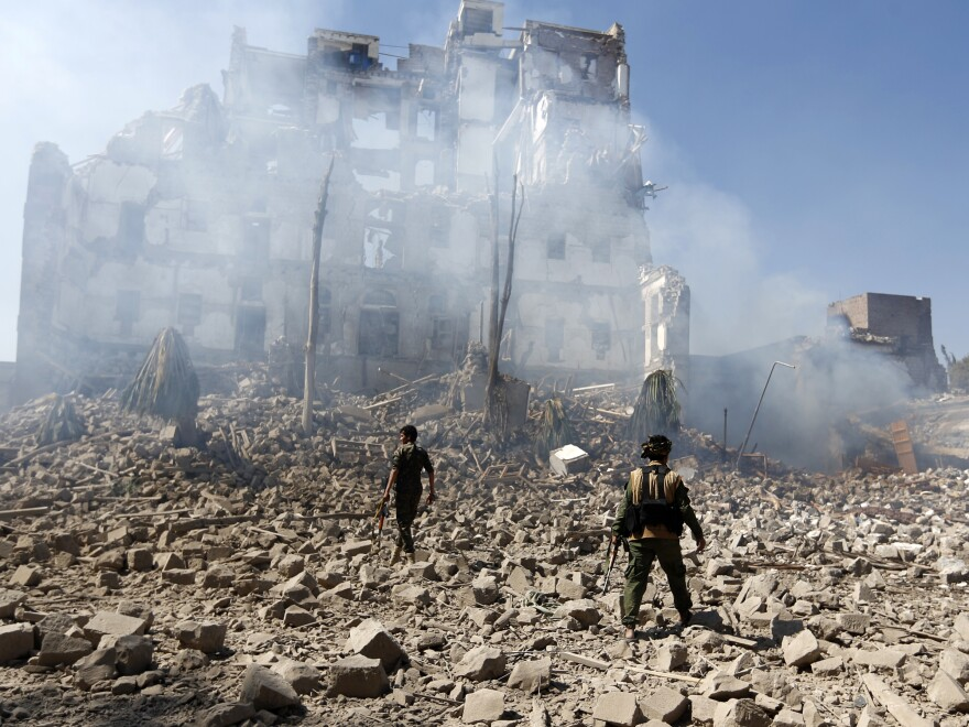 In Yemen, thousands of civilians have been killed, but in the backdrop of this bloodshed and destruction is another tragedy: the looting of the country's history. Its precious antiquities plundered by criminals and violent extremists.