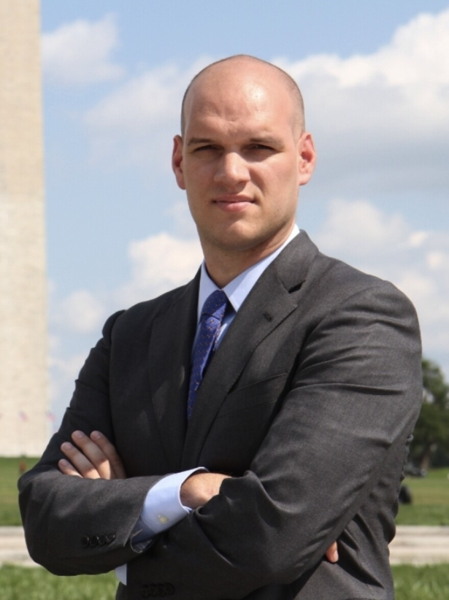 Until Tuesday, Air Force 1st Lt. Josh Seefried used the pseudonym J.D. Smith.