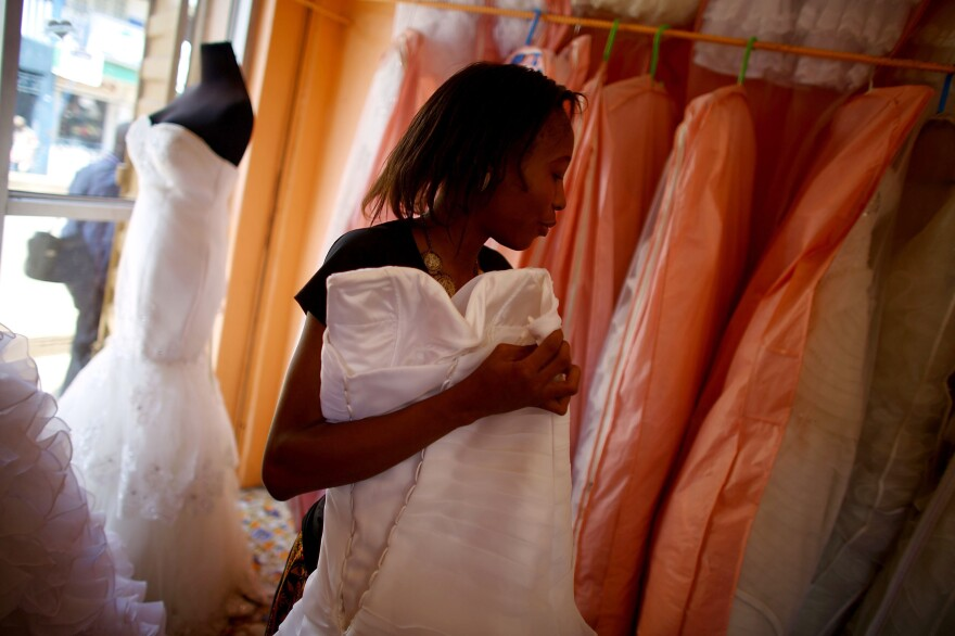 Where are the brides? That's what wedding planner Kumba Blessing Dugba wants to know.