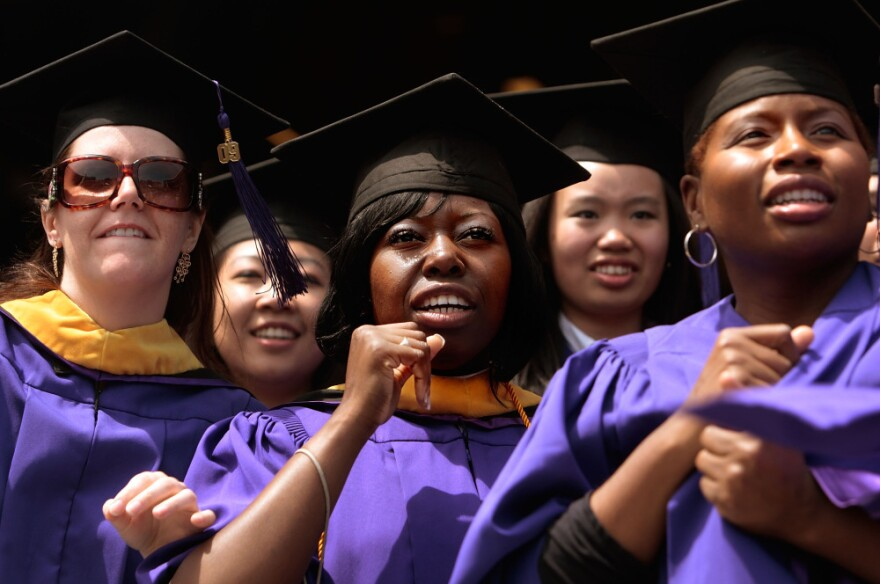 Lots of new nurses, like these graduating from New York University in 2009, are helping to fill openings.