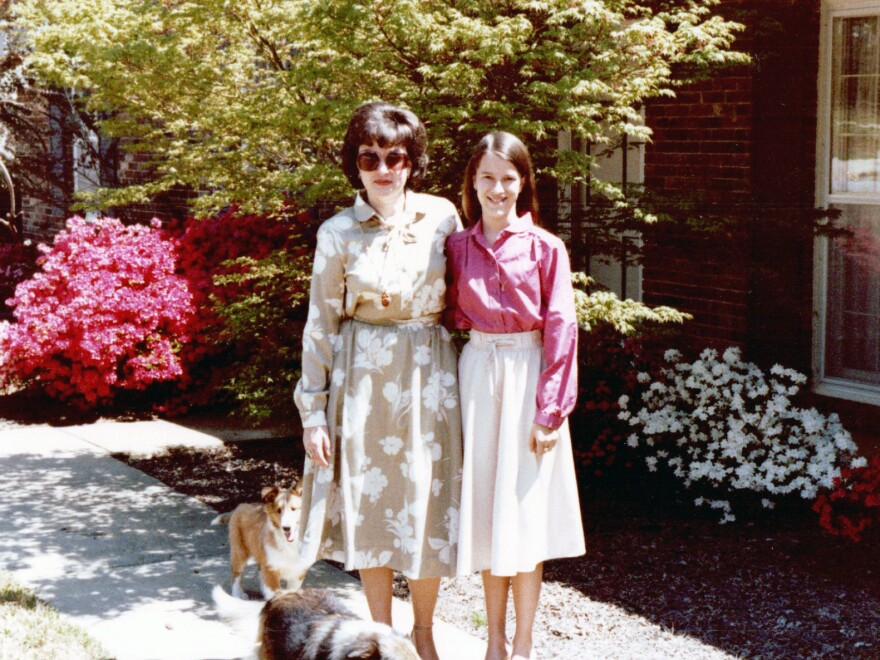 Evelyn Wilson (shown here with her daughter in a family photo from 1980) knew Alzheimer's ran in her family: Her mother and all of her siblings were diagnosed with the disease.