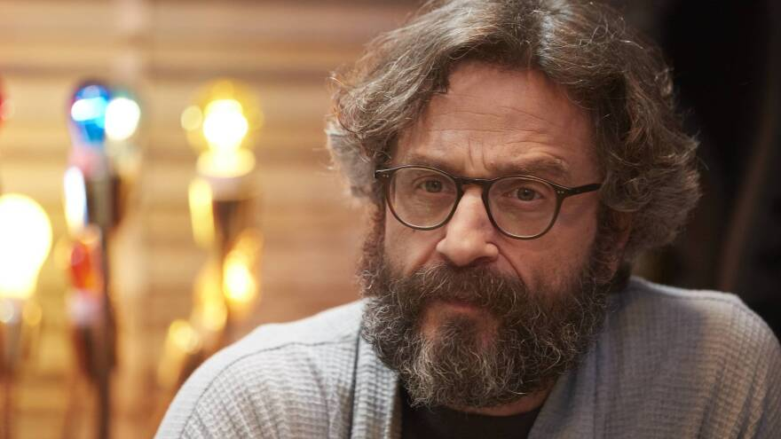 In the fourth season of the IFC show <em>Maron, </em>Marc Maron's character becomes addicted to opioids and loses his house, cats and podcast.