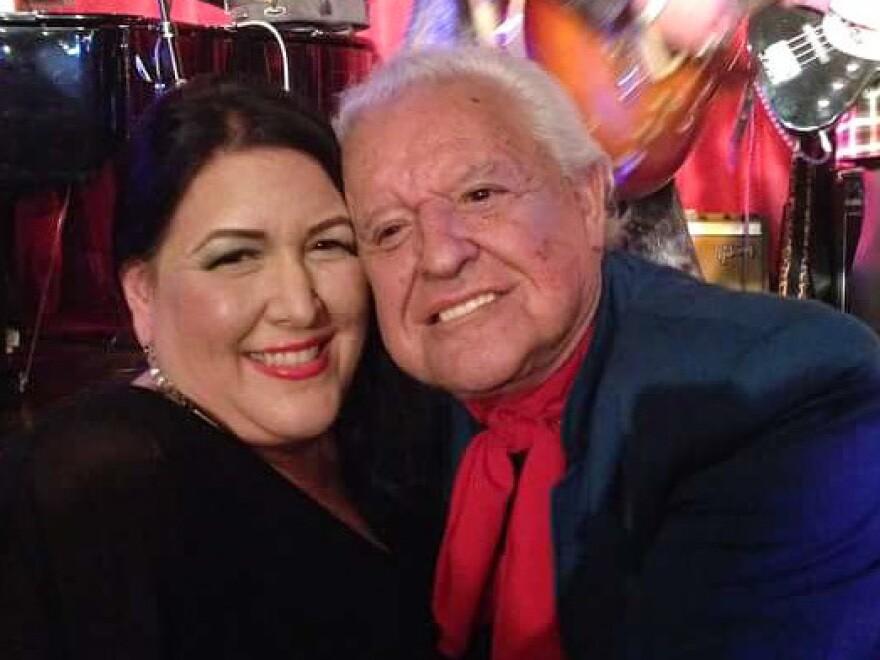 Morelia Cuevas and her father, Manuel Cuevas.