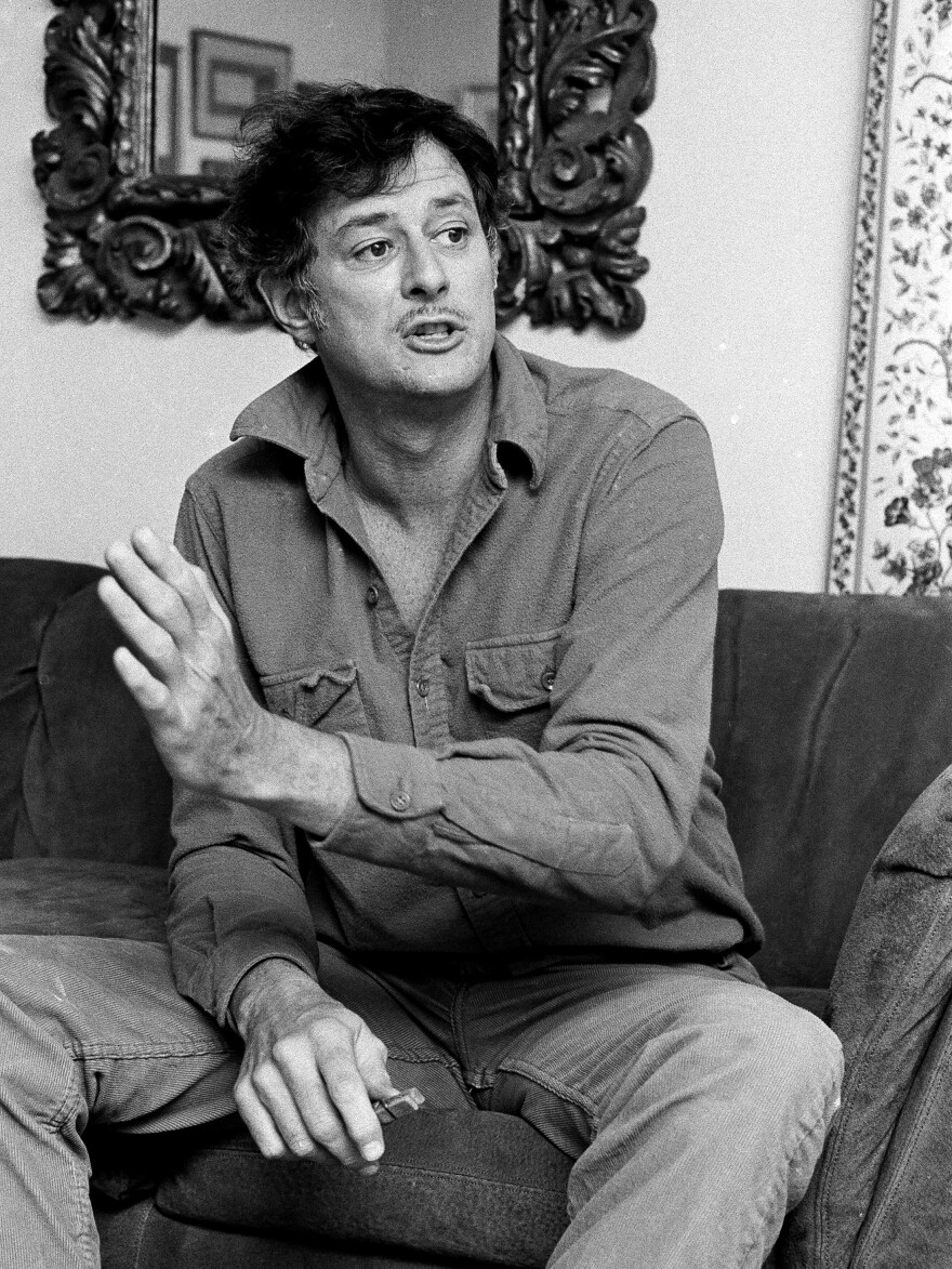 Frank Deford at his Westport, Conn., home on May 4, 1984. The sportswriter has been doing weekly commentaries for <em>Morning Edition </em>since 1980.
