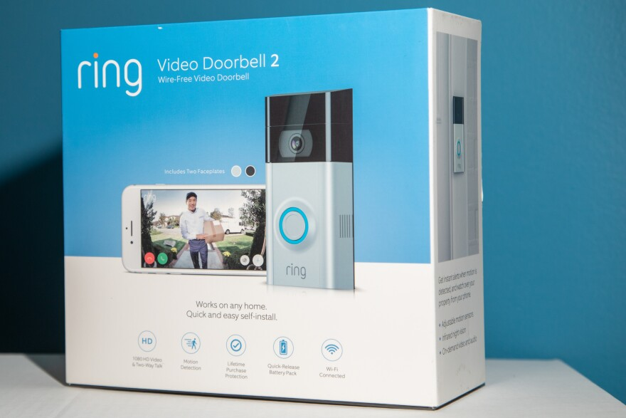 Ring Video Doorbell in box