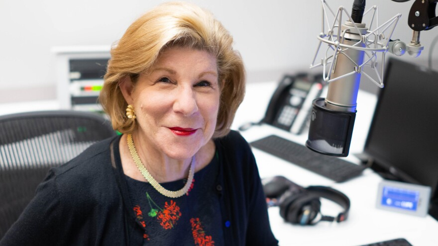 "Nina Totenberg became NPR's legal correspondent in 1975. ""In the beginning, NPR was a tiny little place,"" she says."