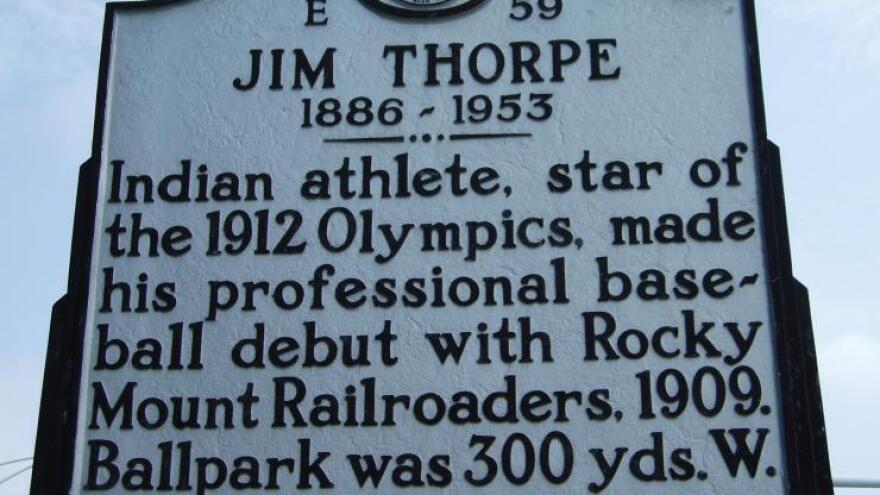 Jim Thorpe marker