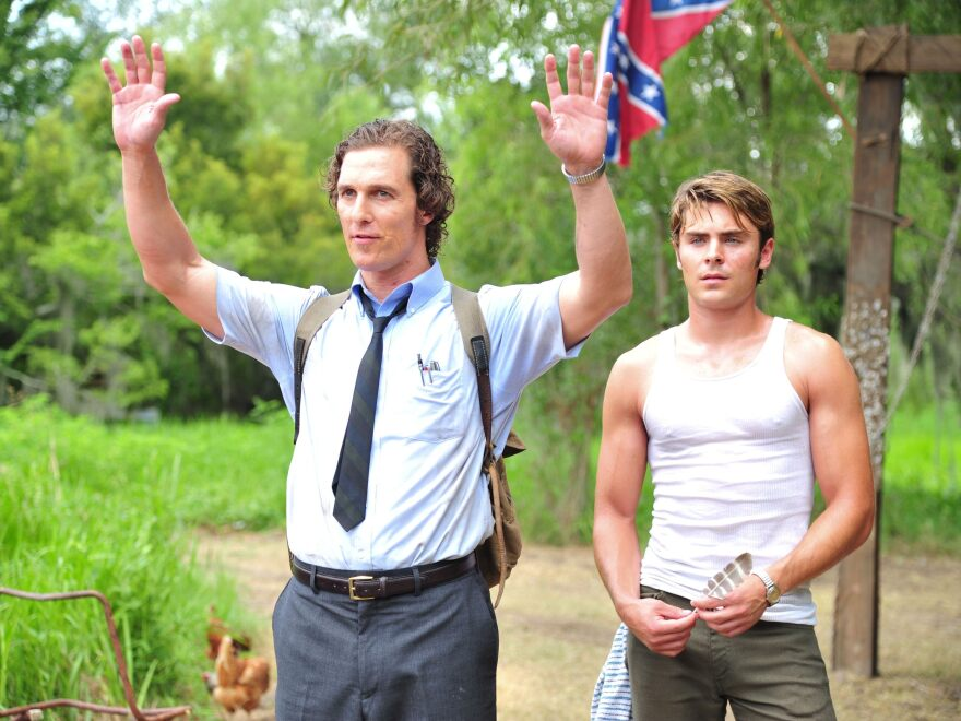 Matthew McConaughey and Zac Efron play brothers in Lee Daniels' <em>The Paperboy</em>, based on a novel by Pete Dexter.