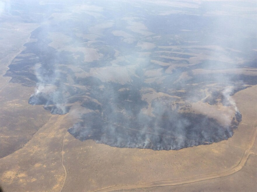 The Range 12 Fire is burning more than 177,000 acres in southeast Washington state.