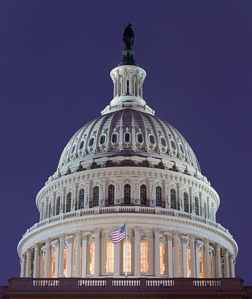 U.S. Capitol in 2006