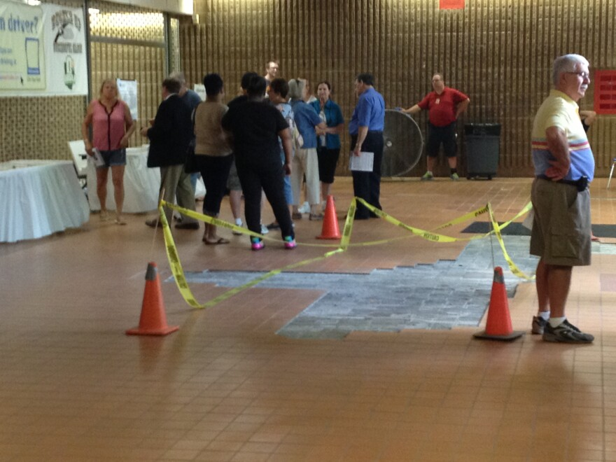 An open house was held at South High School recently to give residents a look at what will soon become the new educational hub.