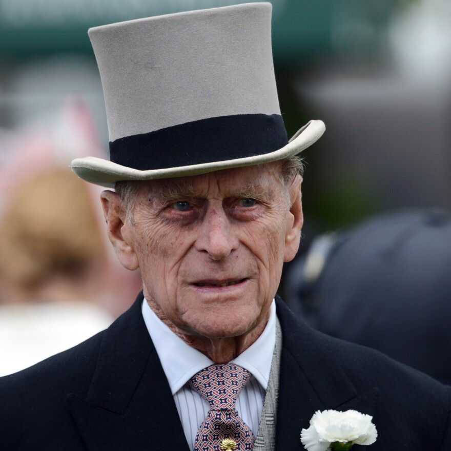 On Saturday, Prince Philip was at the second day of the Epsom Derby horse racing festival.