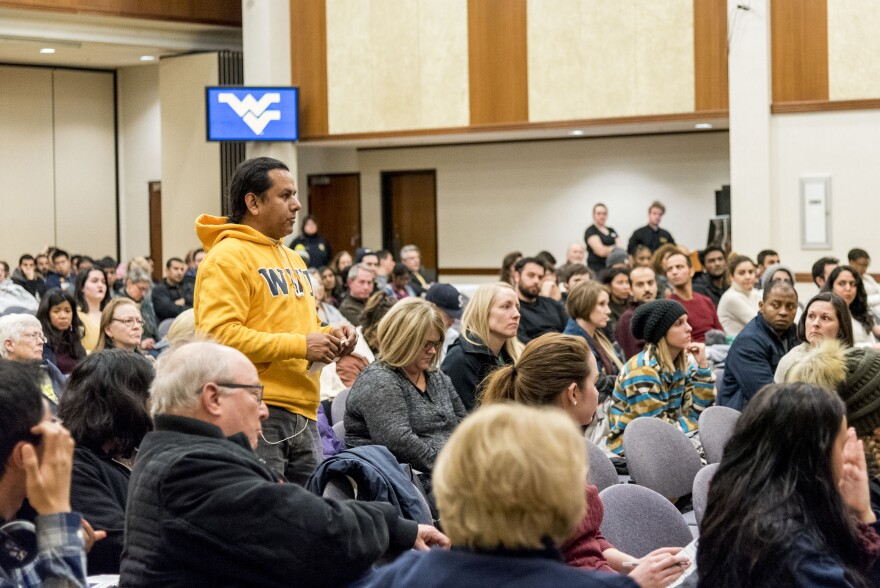 WVU held an open forum for community members to ask questions about the executive order.