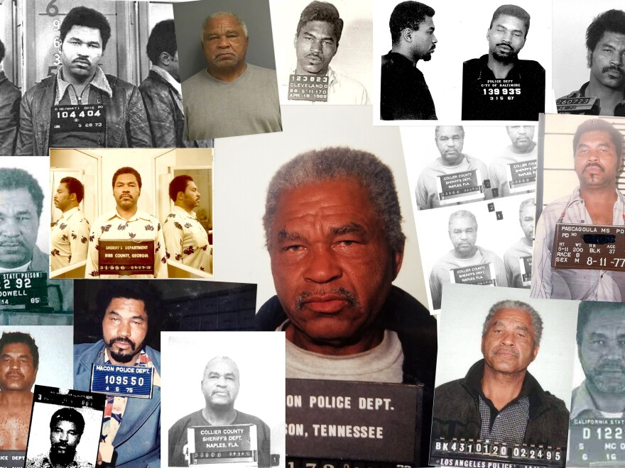 The most prolific serial killer in U.S. history died Wednesday at the age of 80. Samuel Little had confessed to 93 murders in more than a dozen states over 35 years.